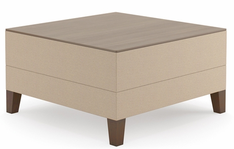 Square Table in Standard Fabric or Vinyl
