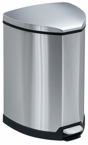 Stainless Steel Step-On 4 Gallon Waste Receptacle