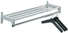 "24"" Wide Steel Wall-Mount Coat Rack - See More Sizes"