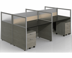 Sync Double-Sided Custom Cubicles - 43