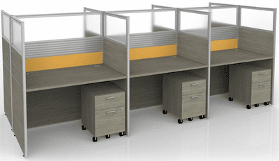 Sync Double-Sided Custom Cubicles - 57
