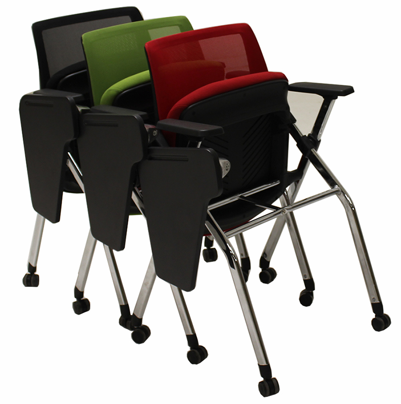Marvelous Tablet Arm Flip Seat Nesting Chair Alphanode Cool Chair Designs And Ideas Alphanodeonline