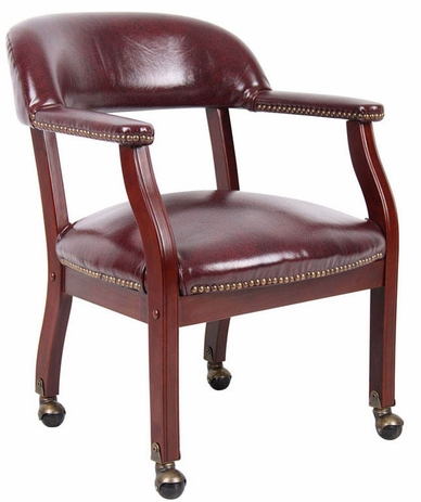 Traditional Guest/Conference Chair on Casters