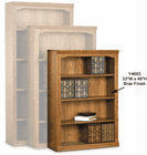 Traditional Real Oak Bookcases - Made in USA