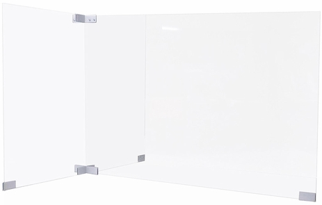 Two Person 4'x4' Add-On 32�H Divider Package