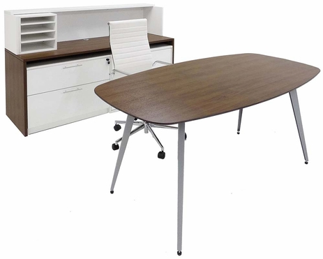 WorkTrend Low Rise Executive Office Furniture Suite