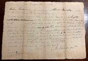 1790 Andrew Jackson legal Document