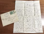 1883 Fort Lewis, Colorado Officer Letter