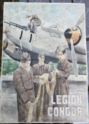 1930's Original Spanish Civil War 'Legion Condor' Propaganda Poster