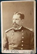 Cabinet Card of (then) 6th Infantry Colonel William B. Hazen