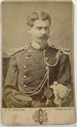 Cdv of 7th Cavalry Officer Andrew Humes Nave