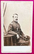 Cdv of Colonel Thomas Cass, 9th Massachusetts Infantry- Mortally Wounded Malvern Hill