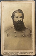 Cdv of KIA Confederate General Turner Ashby-Baltimore b/m