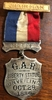 """**SOLD** G.A.R. Chairman badge """"Liberty Statue Unveiling OCT. 28 1886"""""""