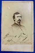 General Gilbert M. F. Johnson 2nd IN Cav, 11th IN Cav. & Colonel 13th Indiana Cavalry