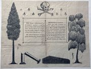 Incredible Funeral Notice- March,1808- Territory of Orleans Attorney General killed in a Duel!