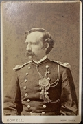 One of the last known images of George A. Custer- Howell, NYC Cabinet Card