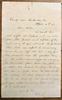 Lee Surrenders! Letter from Captain Charles Wright, 3rd/5th Michigan infantry