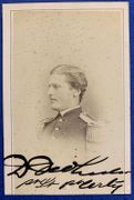4th Vermont Infantry Medal of Honor Recipient signed CDV