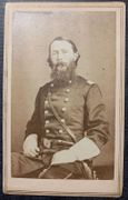 Outstanding cdv of Gen. William H. Lytle, killed leading brigade charge at Chickamauga