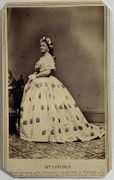 Outstanding cdv of Mrs. Mary Lincoln by Brady