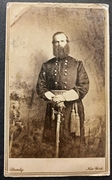 Scarce pose of the Brigadier General John Geary