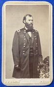 Signed cdv of MOH Recipient General Eugene Carr, 5th US Cavalry