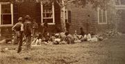 Wounded at Fredericksburg stereoview