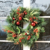 "Berry Wreath 22""D"
