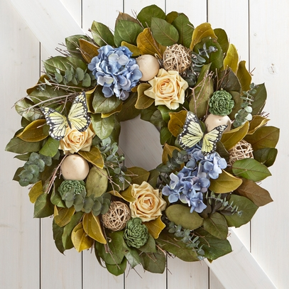 Blue Bell Scented Wreath