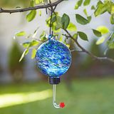 Blue Globe Hummingbird Feeder