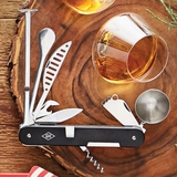 Compact Steel Cocktail Multi Tool