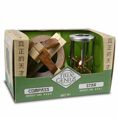 Compass and Star Puzzles