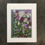 Globe Amaranth Notecard