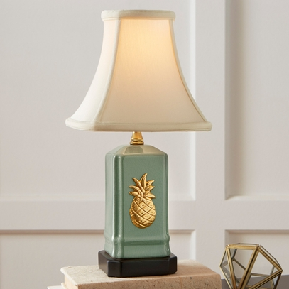 Green Pineapple Lamp