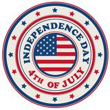 Independence Day Placemat with Stars