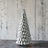 Lighted Glass Spruce Tree