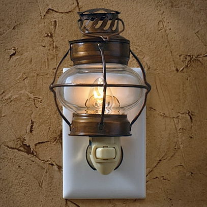 Metal Lantern Nightlight
