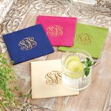Monogrammed Cocktail Napkins
