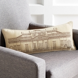Monticello Architectural Pillow