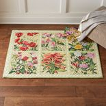 Monticello Botanical Hooked Rug