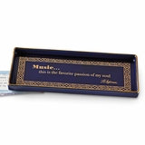 Monticello Music Quote Tray