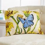 Monticello Pot Marigold Pillow