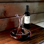 Monticello Wine Decanter