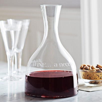 Monticello Wine Quote Decanter