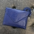 Navy Leather Tablet Case