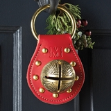Personalized Red Leather Bell