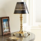Pierced Shade Candle Lamp