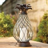 Pineapple Battery Candle Lantern
