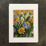 Pot Marigold Notecard